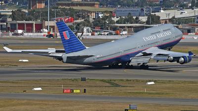 N195UA - Boeing 747-422 - United Airlines