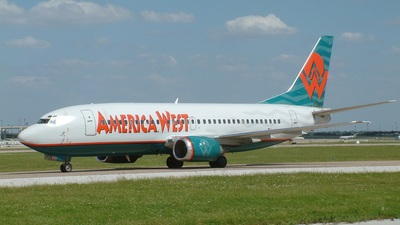 N322AW - Boeing 737-3G7 - America West Airlines