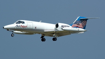 A picture of N27TT - Learjet 35A - [35122] - © FOKKER AIRCRAFT