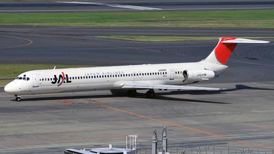 JA8498 - McDonnell Douglas MD-81 - Japan Airlines (JAL)