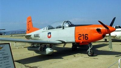216 - Pilatus PC-7 - Chile - Navy