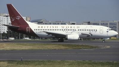 G-OBWY - Boeing 737-3Y0 - British World Airlines