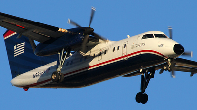 N989HA - Bombardier Dash 8-Q202 - US Airways Express (Mesa Airlines)
