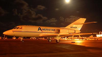A picture of N314TW - Dassault Falcon 20 - [314] - © Rurik Enriquez / Aviascapes M�xico