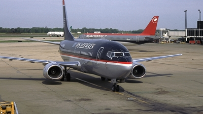 N355US - Boeing 737-301 - US Airways
