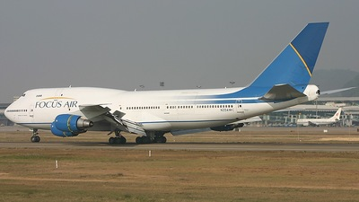 N354MC - Boeing 747-341(SF) - Focus Air