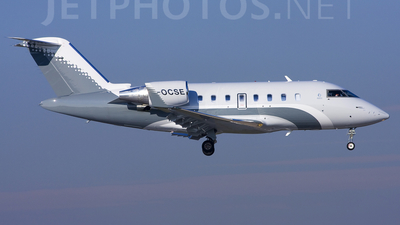 G-OCSE - Bombardier CL-600-2B16 Challenger 605 - Ocean Sky Aviation