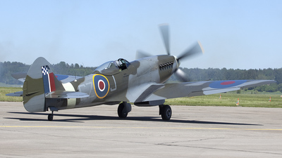 SE-BIN - Supermarine Spitfire FR.18e - Private