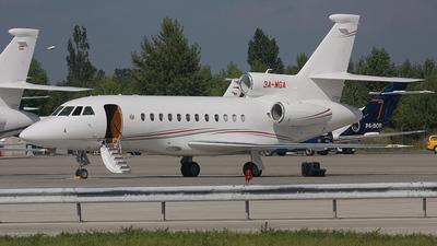 3A-MGA - Dassault Falcon 900EX - Monaco - Government