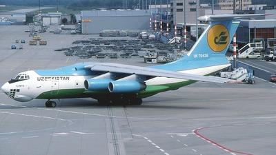 UK-76426 - Ilyushin IL-76TD - Uzbekistan Airways Cargo