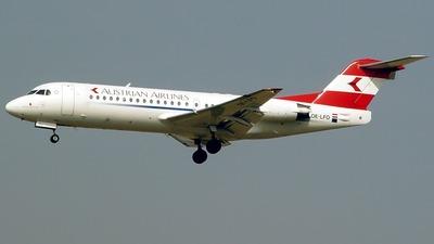 OE-LFO - Fokker 70 - Austrian Airlines