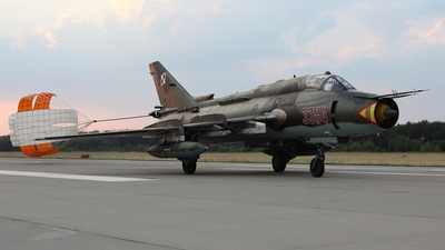 3304 - Sukhoi Su-22M4 Fitter K - Poland - Air Force