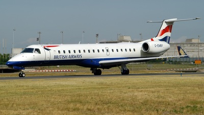 G-EMBY - Embraer ERJ-145EU - British Airways (CityFlyer Express)
