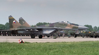 7702 - Mikoyan-Gurevich MiG-29A Fulcrum - Czech Republic - Air Force