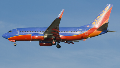 N475WN - Boeing 737-7H4 - Southwest Airlines