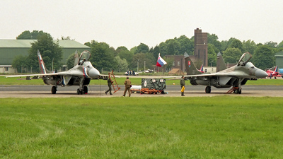 7501 - Mikoyan-Gurevich MiG-29A Fulcrum - Slovakia - Air Force
