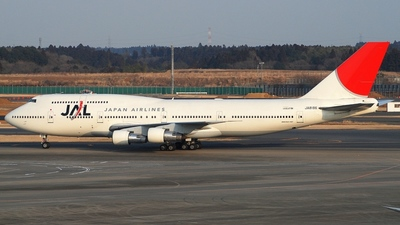 JA8186 - Boeing 747-346 - Japan Airlines (JAL)