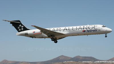 EC-JYD - McDonnell Douglas MD-87 - Spanair
