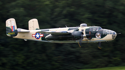 F-AZZU - North American B-25J Mitchell - Private