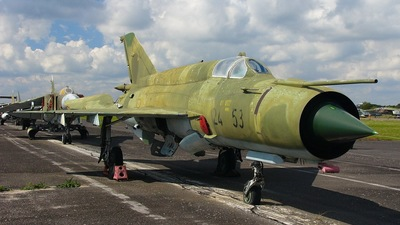 24-53 - Mikoyan-Gurevich Mig-21bis SAU Fishbed N - Germany - Air Force