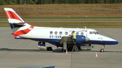 OY-SVR - British Aerospace Jetstream 32 - British Airways (Sun-Air)