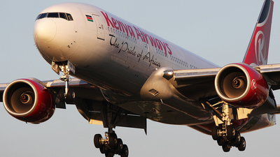 5Y-KQS - Boeing 777-2U8(ER) - Kenya Airways