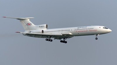 RA-85777 - Tupolev Tu-154M - Continental Airways