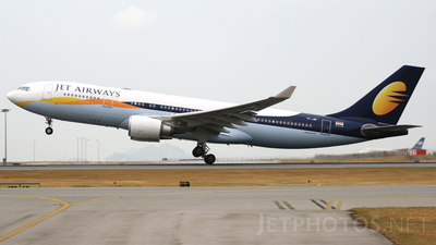VT-JWF - Airbus A330-202 - Jet Airways