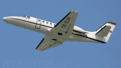 SE-DJH - Cessna 550B Citation Bravo - Private