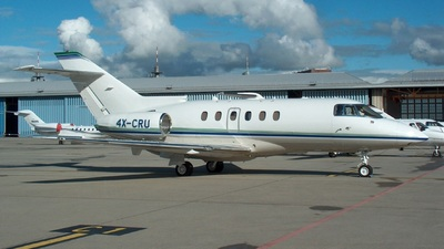 4X-CRU - Raytheon Hawker 800XP - Private