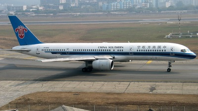 B-2803 - Boeing 757-21B - China Southern Airlines
