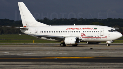 LY-AZW - Boeing 737-5Q8 - flyLAL - Lithuanian Airlines