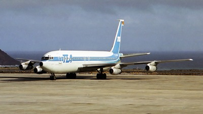 OO-TEC - Boeing 707-131 - TEA - Trans European Airways
