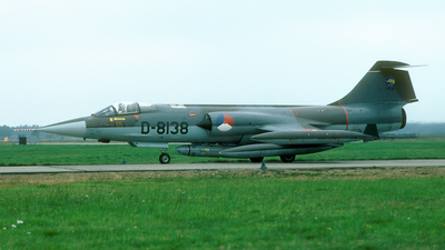 D-8138 - Lockheed RF-104G Starfighter - Netherlands - Royal Air Force