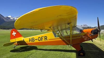 A picture of HBOFR - Piper J3C65 Cub - [13285] - © Istvan Santa