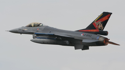 J-640 - General Dynamics F-16AM Fighting Falcon - Netherlands - Royal Air Force