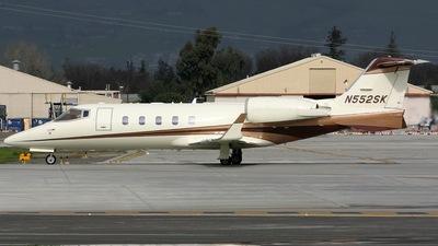 N552SK - Bombardier Learjet 60 - Private