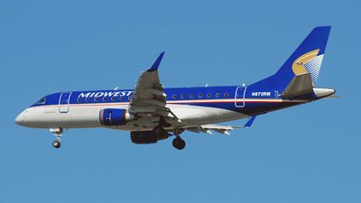 N873RW - Embraer 170-100SE - Midwest Connect (Republic Airlines)
