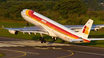 EC-ICF - Airbus A340-313X - Iberia