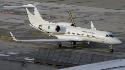102004 - Gulfstream Tp102C - Sweden - Air Force