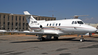 ZS-MEG - Hawker Siddeley HS-125-400A - Private