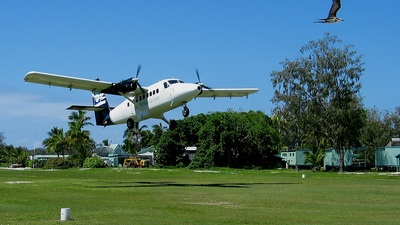 VH-TZR - De Havilland Canada DHC-6-200 Twin Otter - Lady Elliot Island Resort