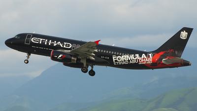 A6-EIB - Airbus A320-232 - Etihad Airways