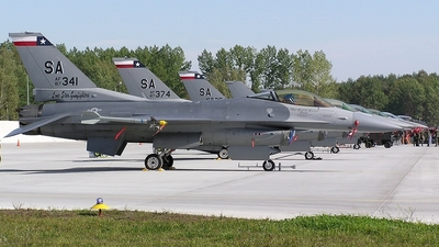 87-0341 - General Dynamics F-16C Fighting Falcon - United States - US Air Force (USAF)