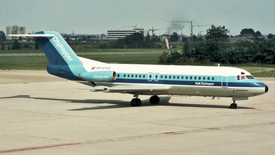 PH-CHD - Fokker F28-4000 Fellowship - NLM Cityhoppper