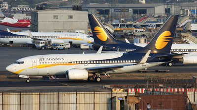 VT-JGZ - Boeing 737-76N - Jet Airways