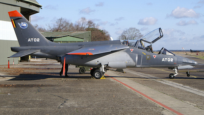 AT-02 - Dassault-Breguet-Dornier Alpha Jet - Belgium - Air Force