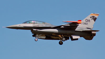 87-0382 - Lockheed Martin F-16D Fighting Falcon - United States - US Air Force (USAF)