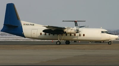 HA-FAB - Fokker F27-500 Friendship - Farnair Hungary