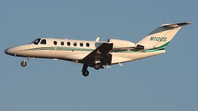 A picture of N112GS - Cessna 525A CitationJet CJ2 - [525A0127] - © Wojtek Kmiecik